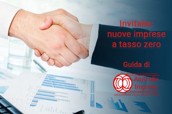 Invitalia Nuove Imprese a Tasso Zero