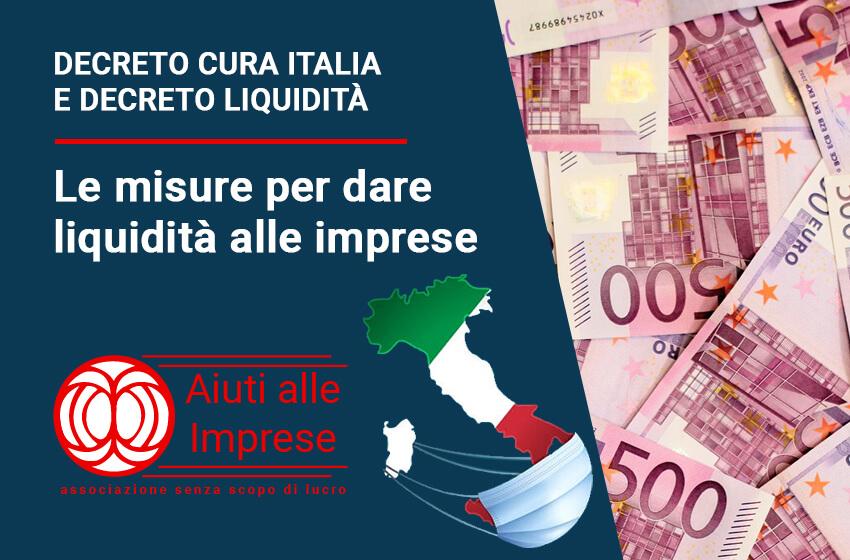 Decreto Cura Italia e Liquidità - Finanziamenti per imprese
